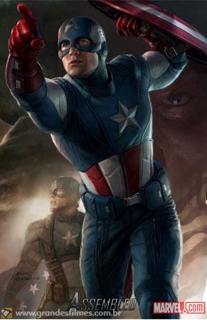 Os Vingadores - Capitão América