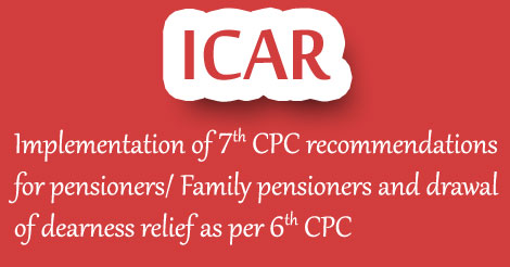 ICAR-7th CPC recommendations