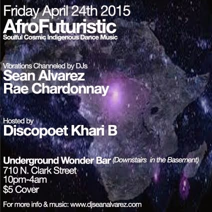 Friday 4/24: AfroFuturistic