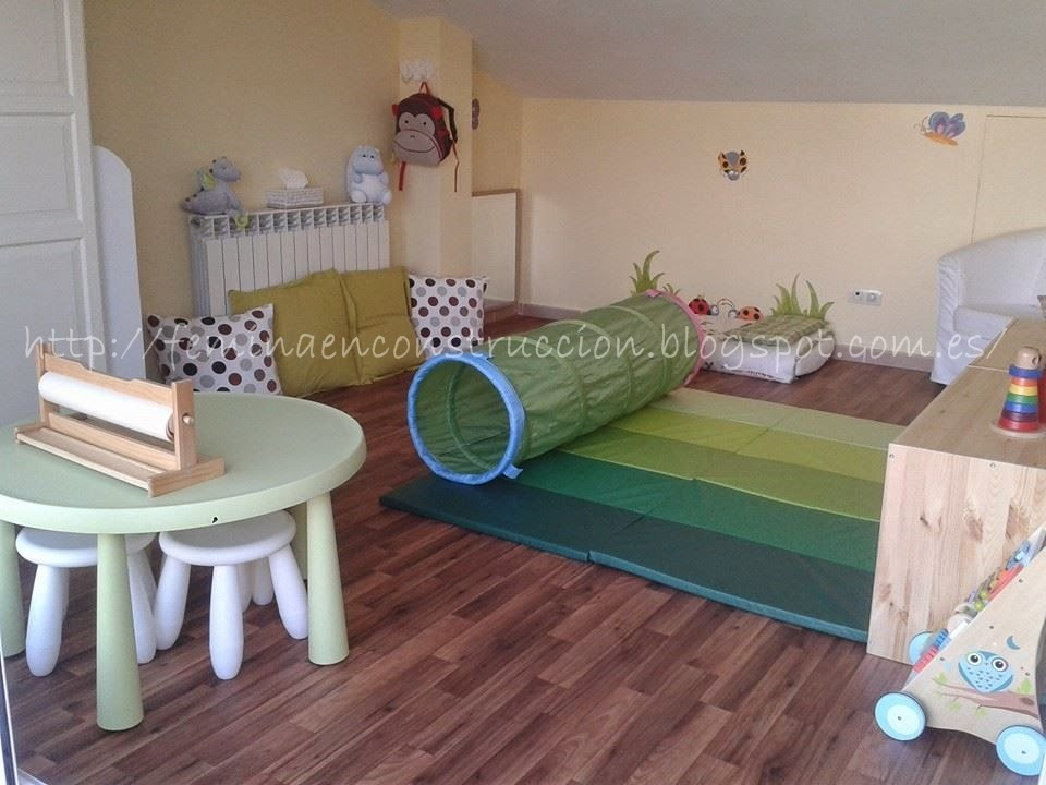 Fmina En Construccin Habitacin infantil Inspirada en