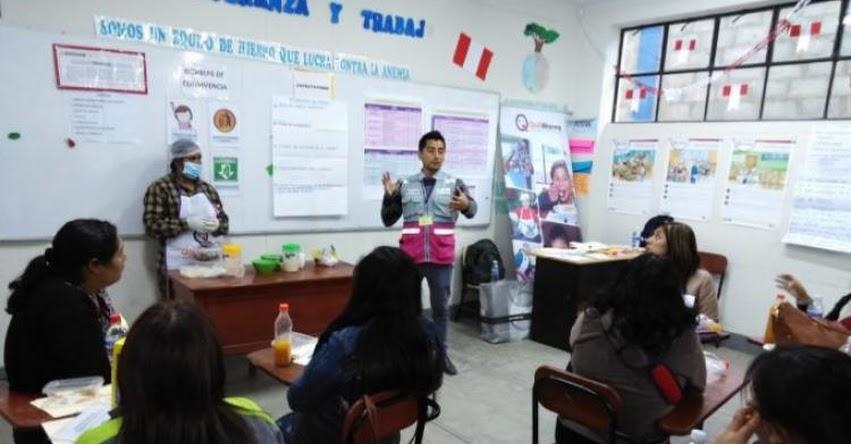 Midis - Qali Warma capacitó a los integrantes de más de 3 500 Comités de Alimentación Escolar de La Libertad - www.qaliwarma.gob.pe