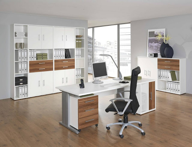 best buy modern oak and white office furniture sets for sale online
