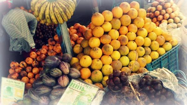 buah lokal, jeruk lokal