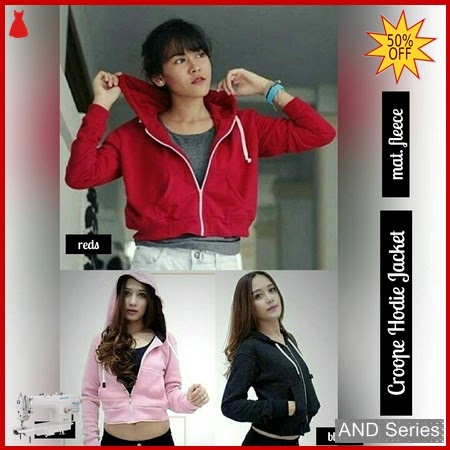 AND106 Jaket Wanita Crop Hoodie Jacket BMGShop