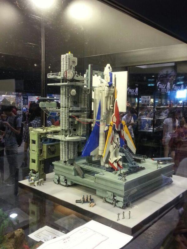 mg 1  100 wing gundam diorama build at acghk