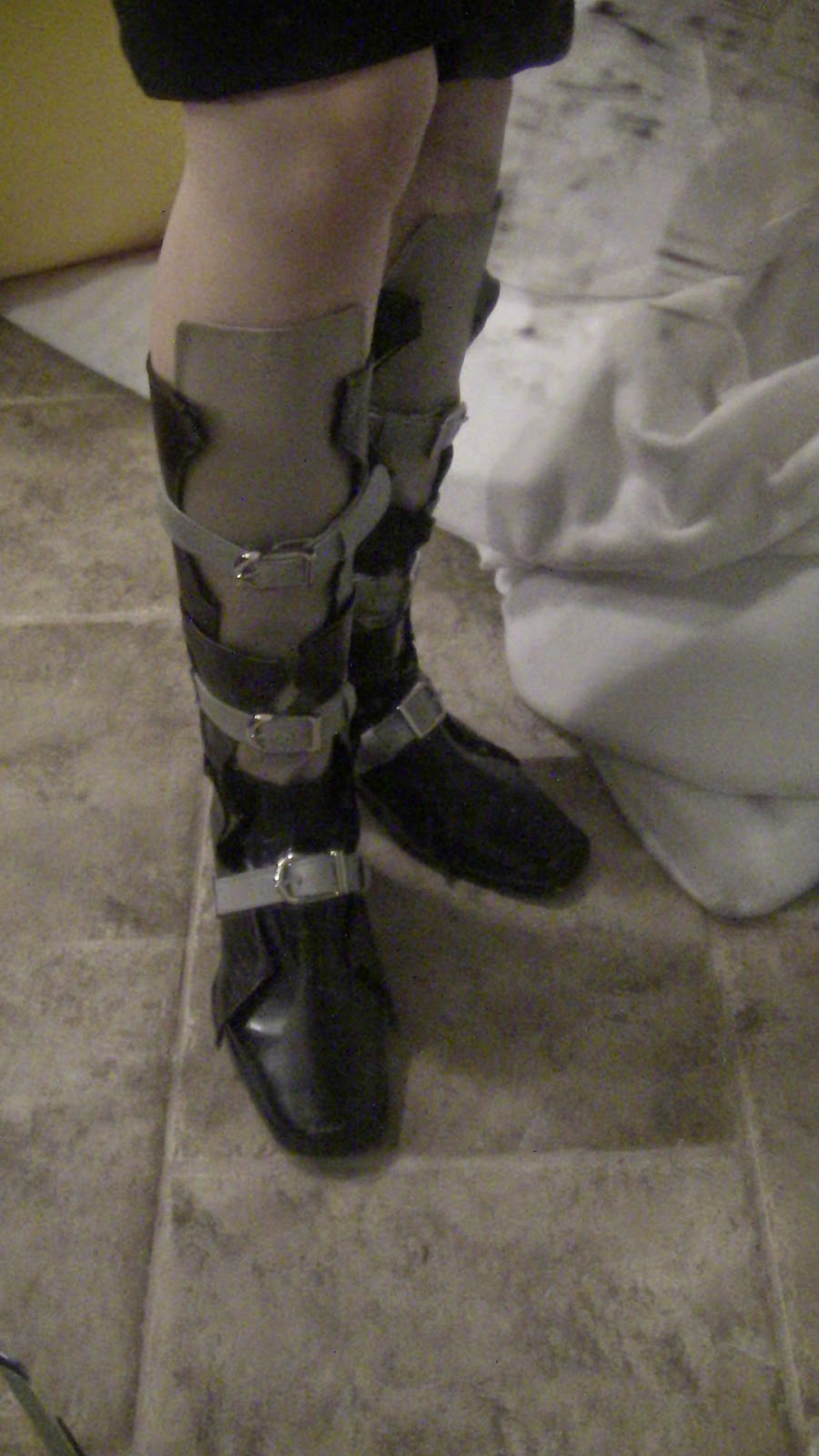 lightning cosplay boots shoes final fantasy xiii