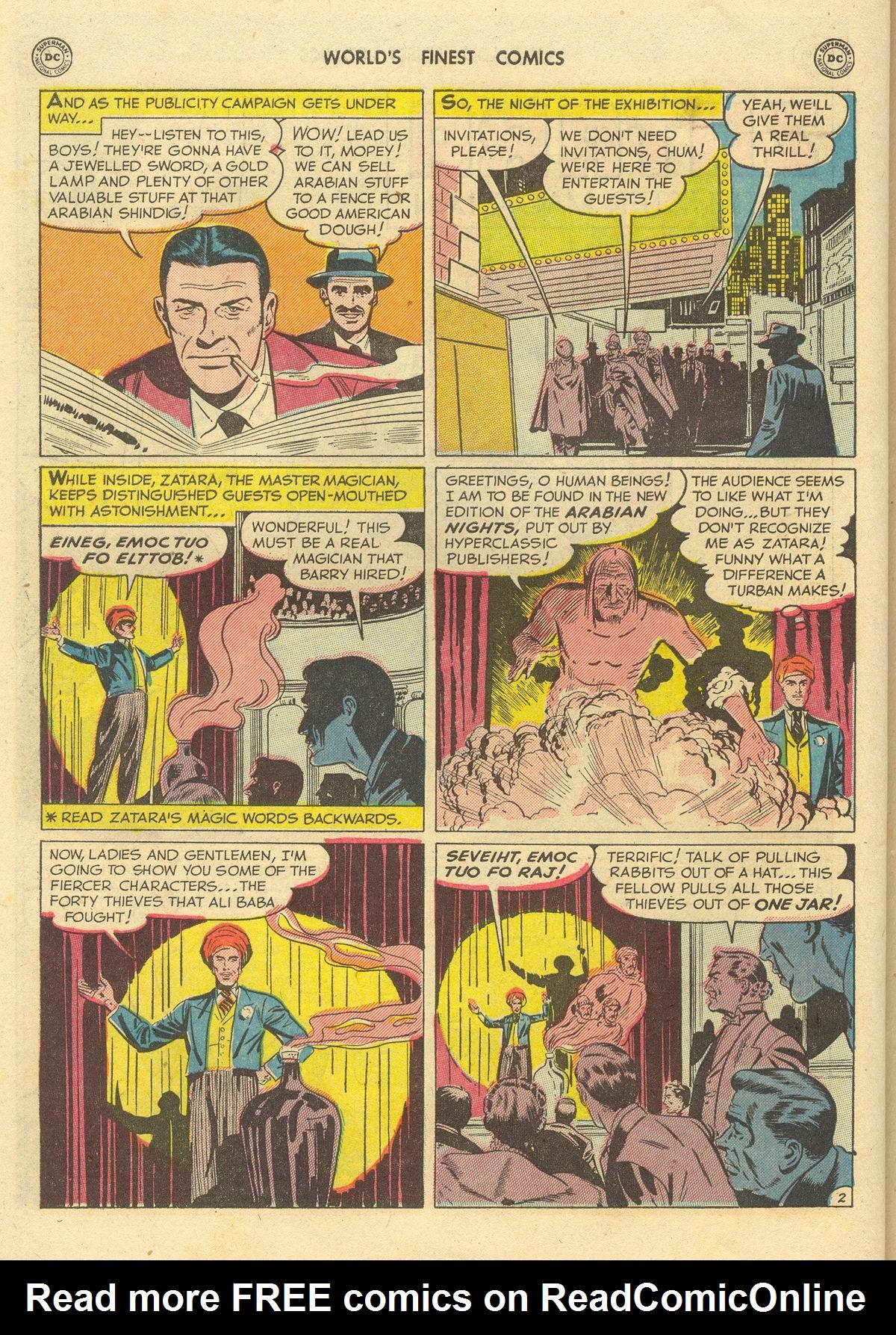 Read online World's Finest Comics comic -  Issue #51 - 56