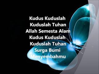 Chord Lagu Rohani : KUDUS-KUDUSLAH TUHAN  - Ir. Welyar Kauntu