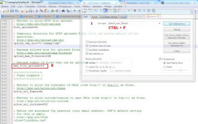 cara import database besar phpmyadmin