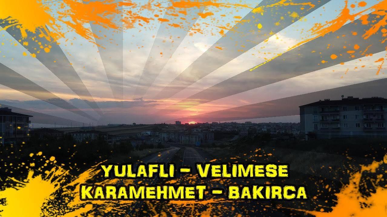 2018/06/03 Ergene - Çorlu - Önerler - Yulaflı - Velimeşe - Karamehmet - Bakırca - Marmaracık - Ergene