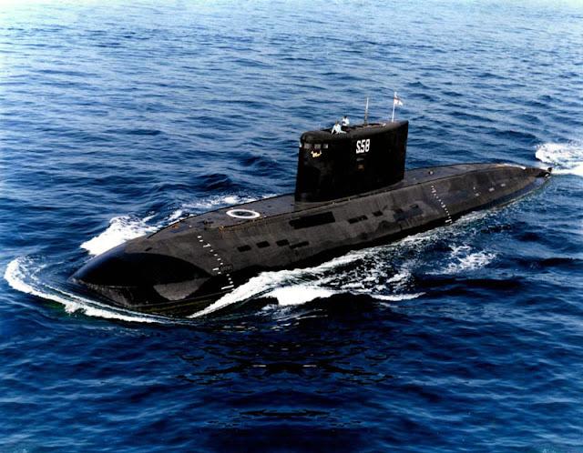 submarino clase kilo