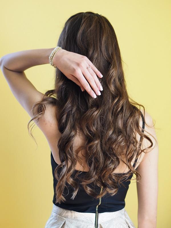 fryzura dla gościa weselnego