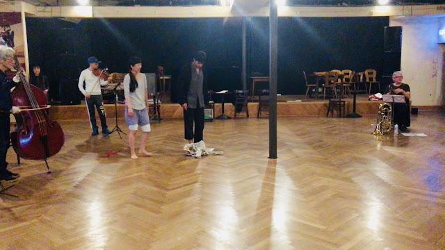 Mein Schloss Rehearsal, Cafe Ada, Wuppertal