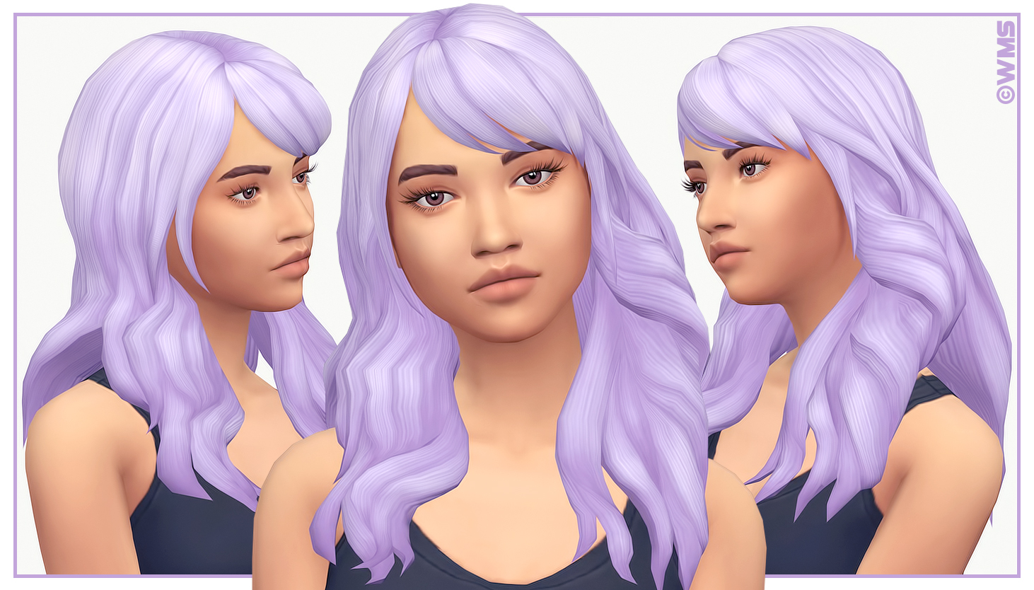 My Sims 4 Blog: Limerence Hair and Accessory for Females