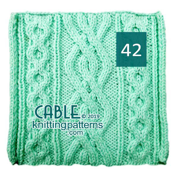Cable Knitting Pattern 42