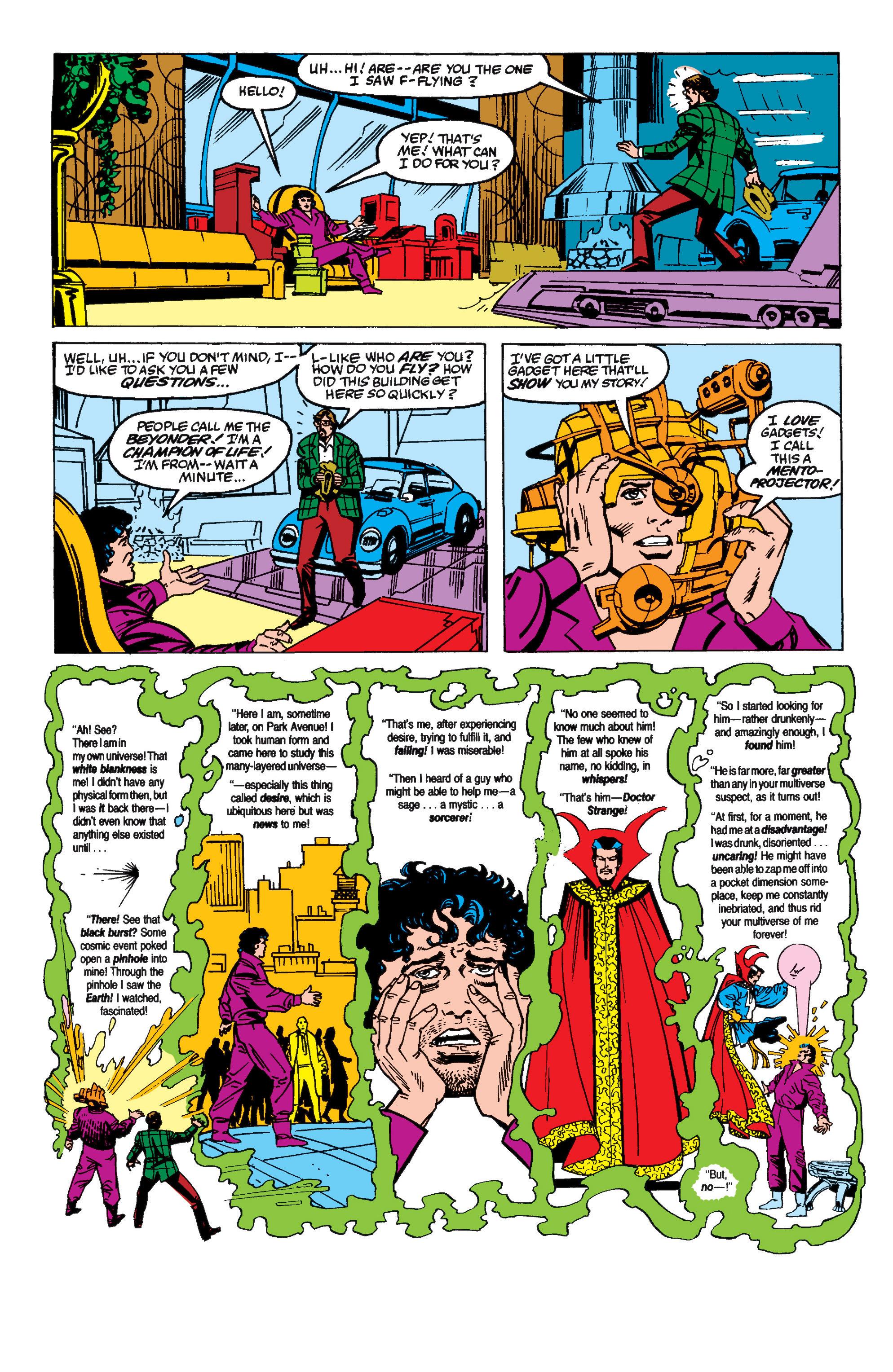 Read online Secret Wars II comic -  Issue #6 - 7