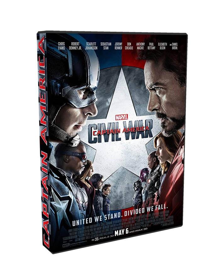 Capitan America Civil War poster box cover