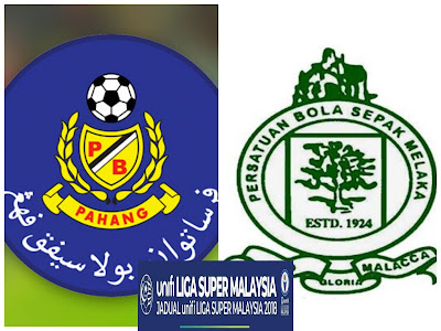 Live Streaming Pahang vs Melaka United Liga Super 28 April 2018