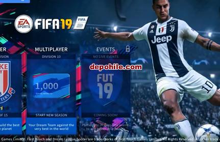 DLS 19 Yeni FIFA 19 Edition Modu İndir,Kurulum Offline / Online