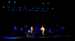 Lyle Lovett and Emmylou Harris at Wolf Trap