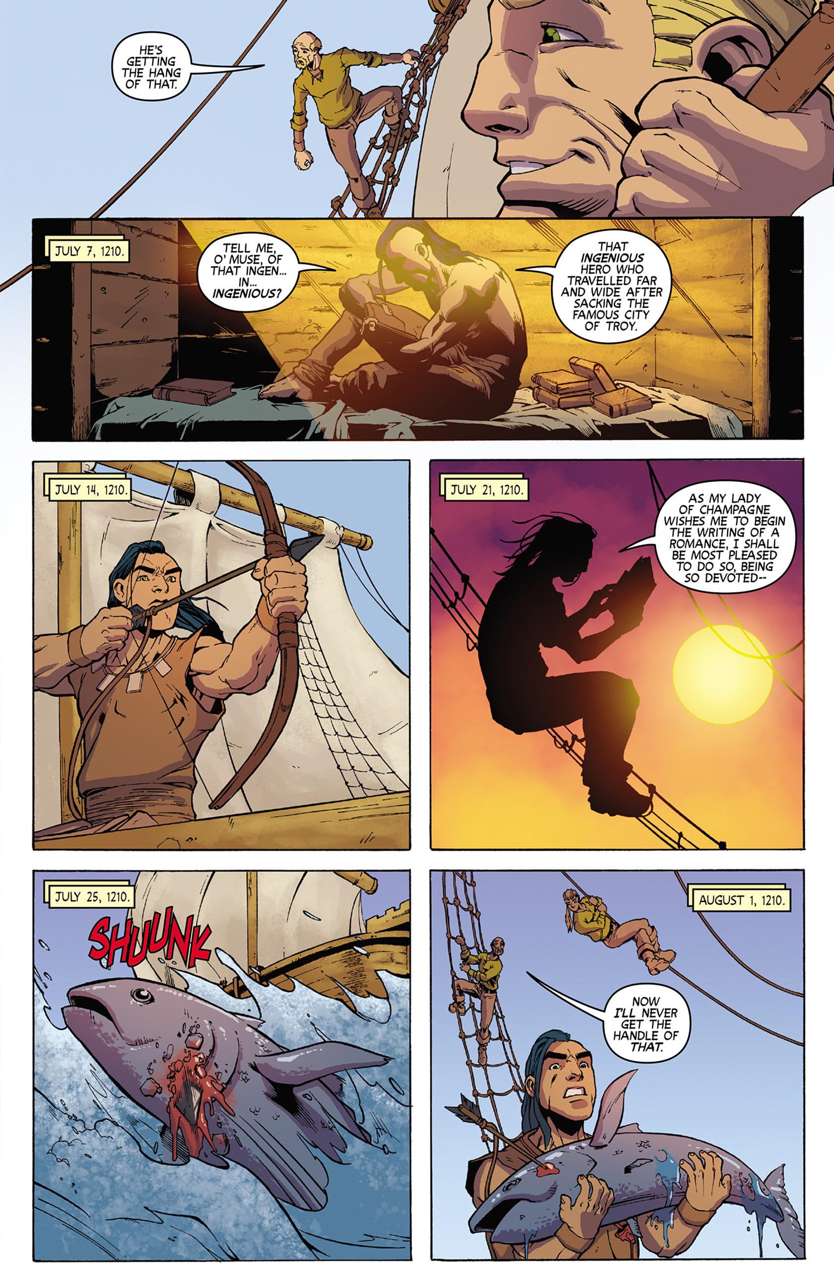 Read online Turok: Dinosaur Hunter (2014) comic -  Issue #9 - 17