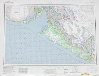 Yakutat United Stats 250000 (250k) Topographic map free download