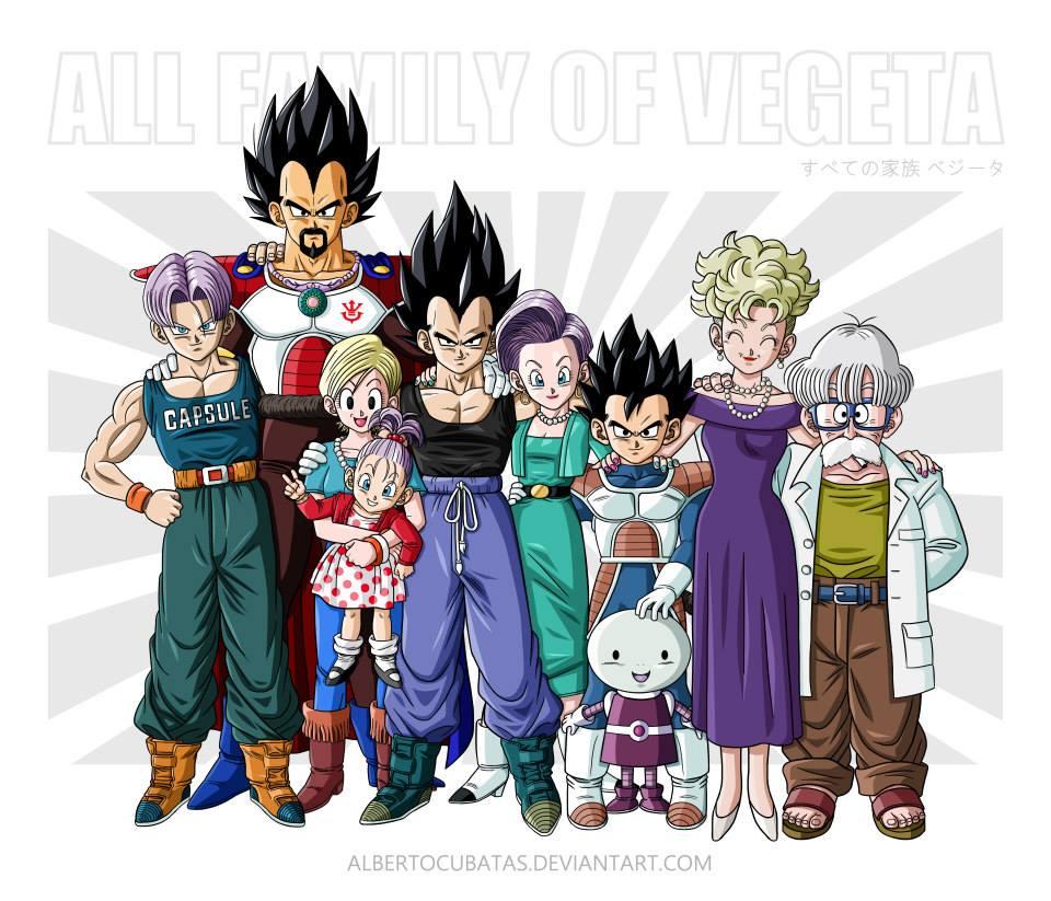 All Dragon Ball Family
