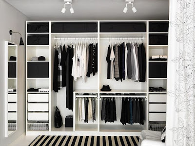wardrobe, organise, how to, clothes, style, clearance, clear out