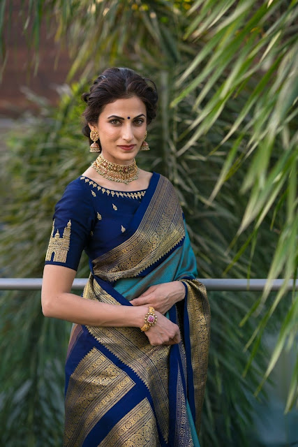 ebc6ca4f73 41 Latest pattu saree blouse designs to try in 2019 || Blouse ...