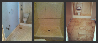 My homemade happiness first floor bathroom renovation - Renovating a bathroom what to do first ...