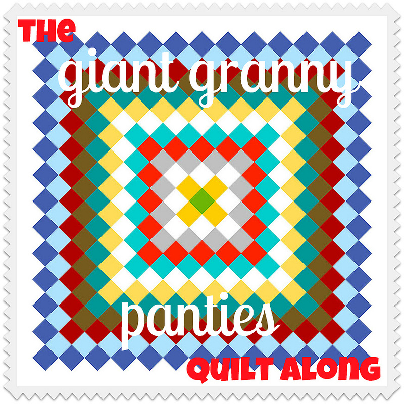 Giant Granny Panties Quilt Along!