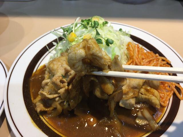 キッチンABC江古田店 カレー焼肉定食