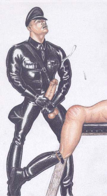 Gay leather uniforms store