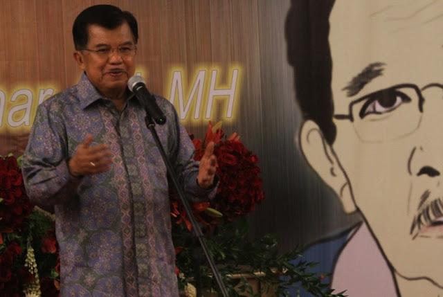 JK Perintahkan Pengurus Masjid Bakar Indonesia Barokah