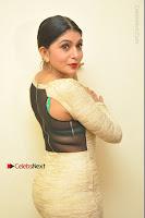 Actress Pooja Roshan Stills in Golden Short Dress at Box Movie Audio Launch  0122.JPG