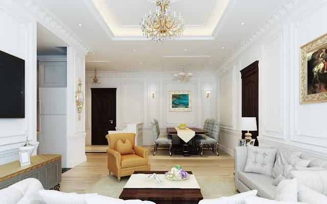 Mẫu thiết kế nội thất căn hộ The Emerald
