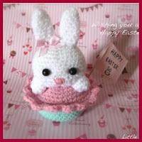 Conejita cupcake amigurumi