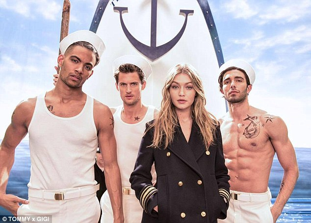 Gigi Hadid stars in the new campaign for Tommy Hilfiger