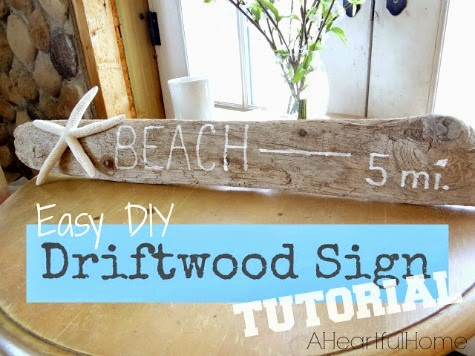 Driftwood Sign Tutorial