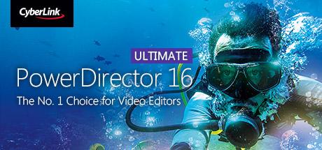 Cyberlink PowerDirector 16 Ultimate for Windows 7 | 8 | 10