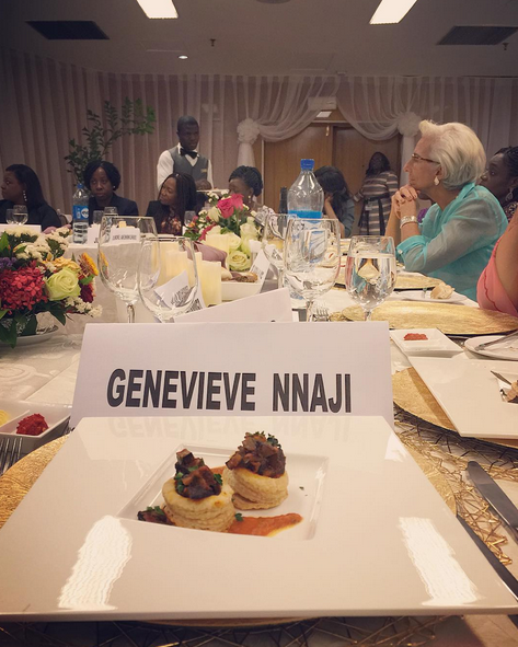 genevieve nnaji dinner christine lagarde