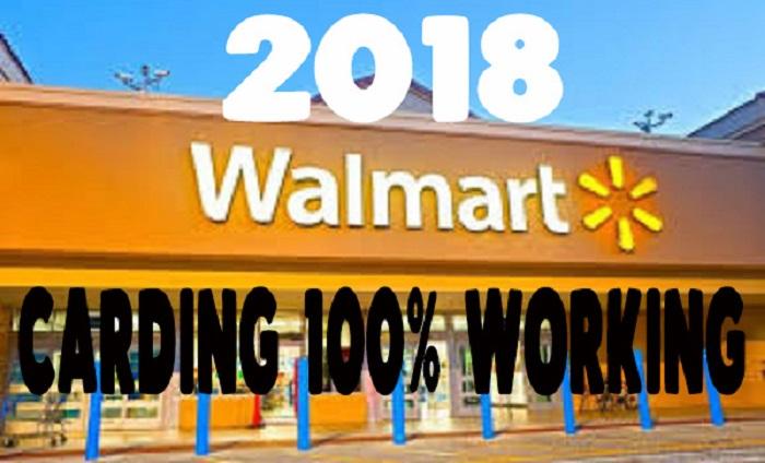 2018 Walmart Carding 100% Working - Kpoyaga Tech Blog