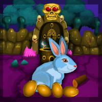 Play Games4escape Cursed Bunny…