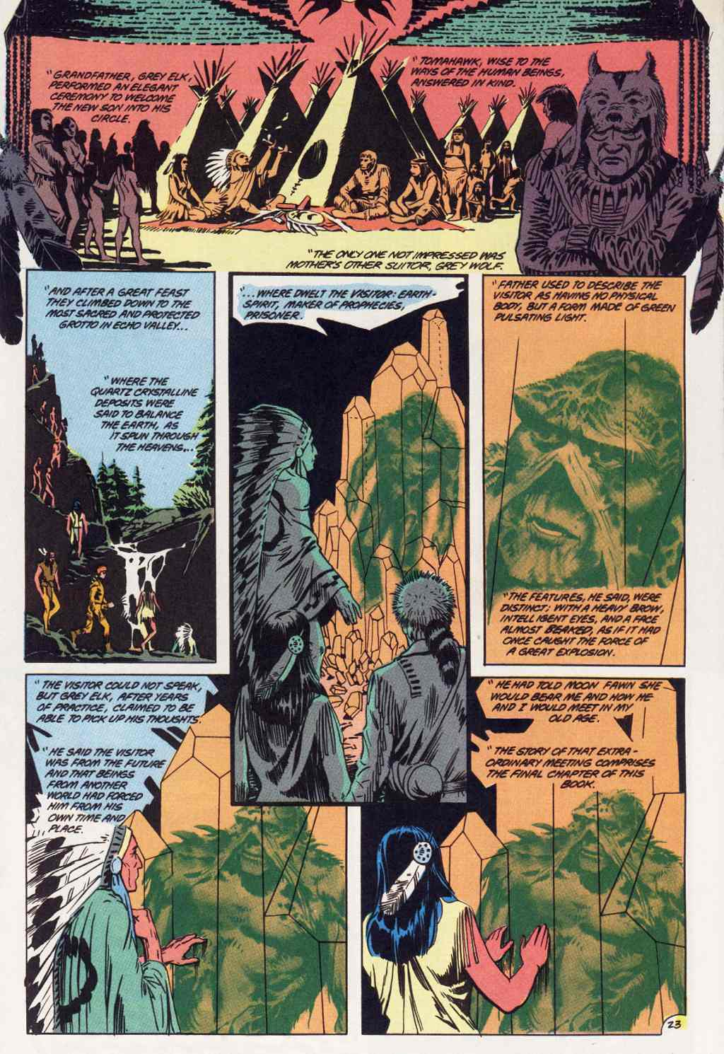 Swamp Thing (1982) Issue #86 #94 - English 23