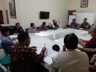 Para Stakeholder Rehab Rekon Pasca Gempa Gelar Rapat Samakan Persepsi Standarisasi Hasil RTG