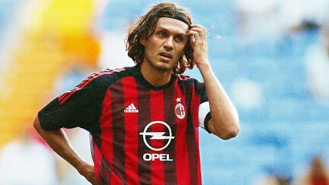 Best players in AC Milan History - Maldini
