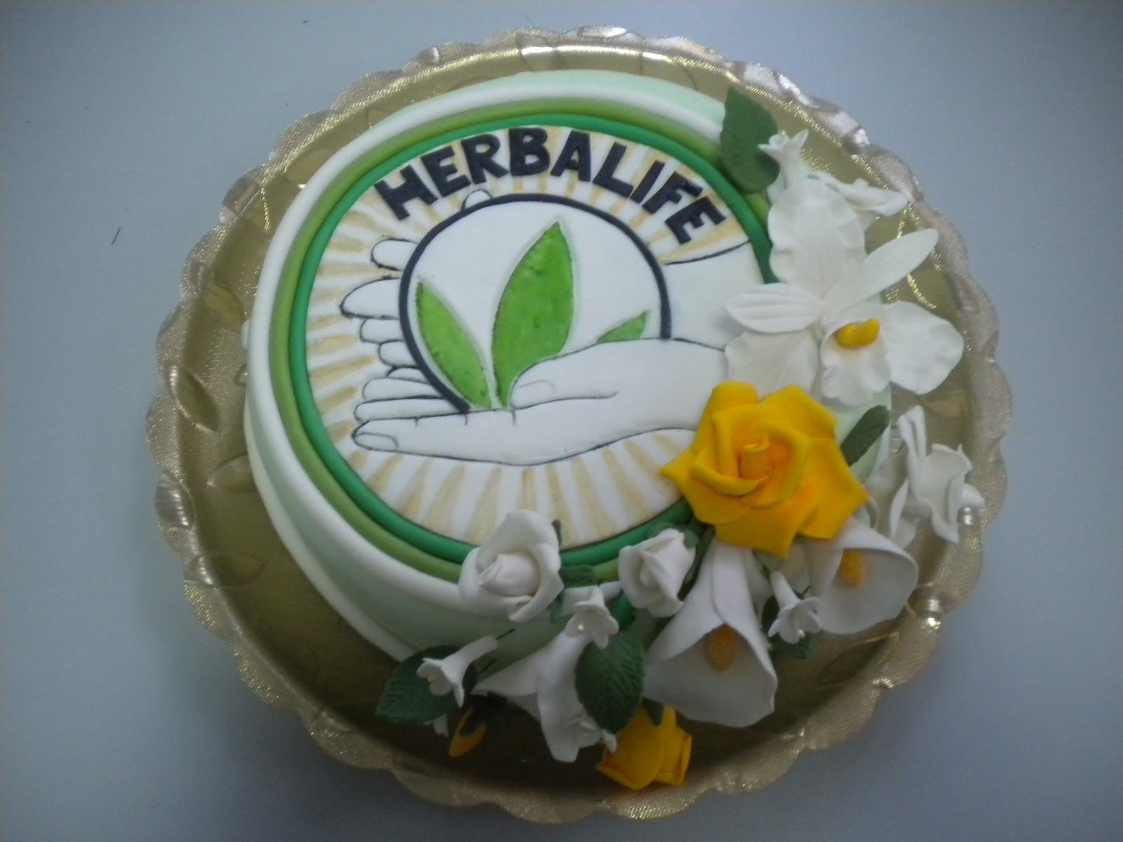 Cake On Click For Details Herbalife Birthday