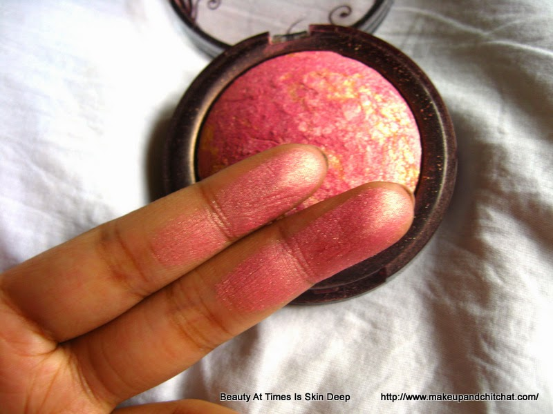 Swatches of Incolor Blush 14