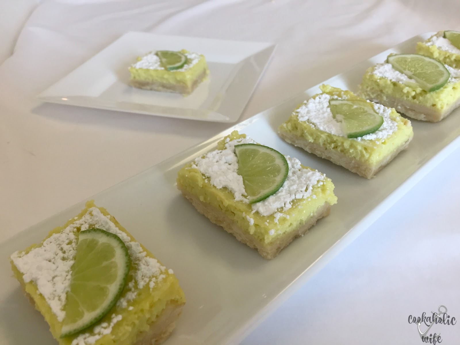 Cookaholic Wife: #FillTheCookieJar: Lime Bars