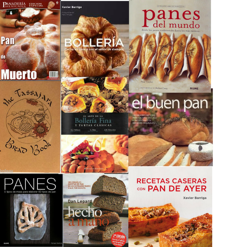 Coleccion Libros De Pan A Gusto Con Tu Paladar